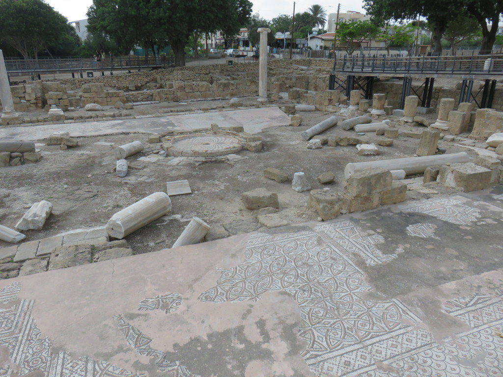 Paphos – ancient Roman city where the Apostle Paul departed after travelling and ministering through the country (Acts 13:6-13)