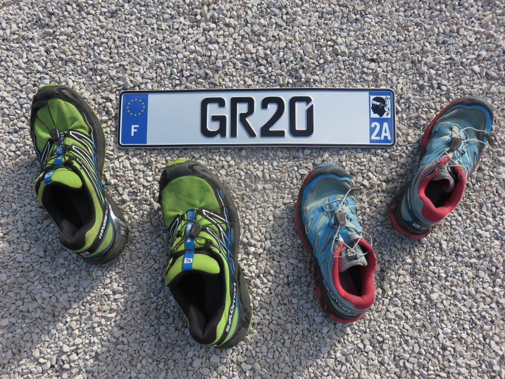 We could not resist - completing the GR20 deserved it's own number plate!